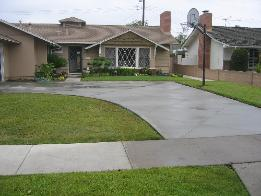 Decorative concrete work in Orange County